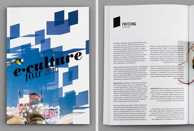 Katalog – Titel und Innenseite