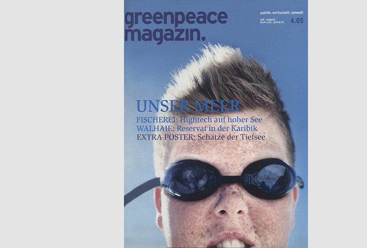 """Titel der Ausgabe """"Unser Meer"""" 4 / 2005"""