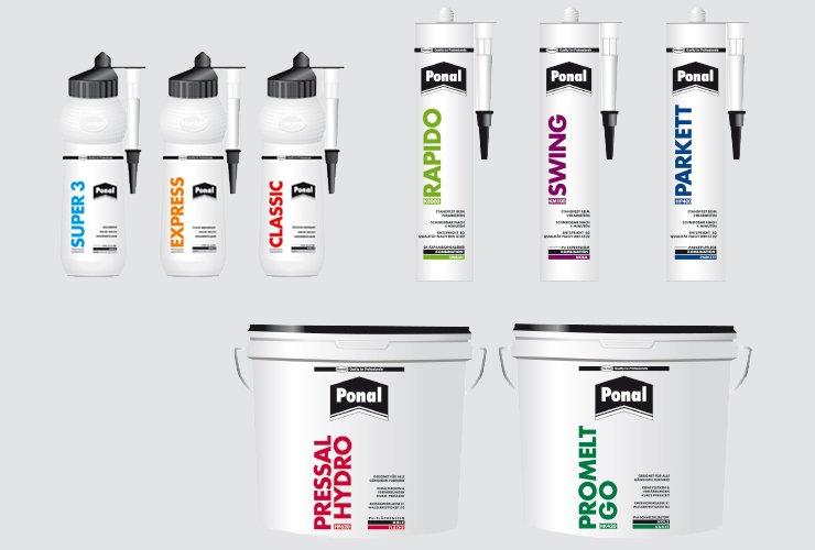 Diverse Beispiel-Produkte