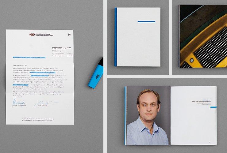 Image-Buch zur Vorstellung aller Mitarbeiter und der Maschinen und Aufgabenfelder