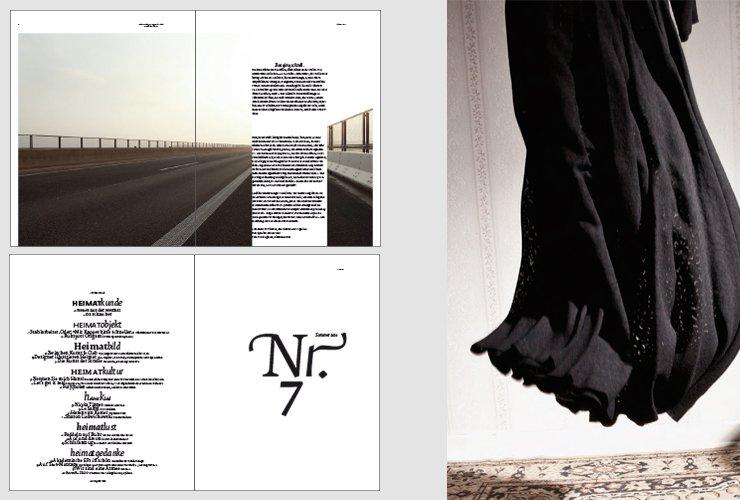 Intro, Inhaltsverzeichnis und Mode